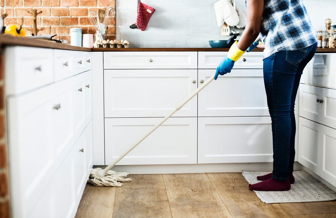 Tips for cutting your house cleaning time in half